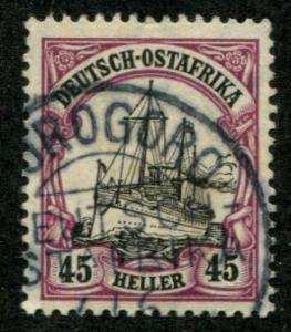 German East Africa SC# 37 Yacht  Hohenzollern 45h Used