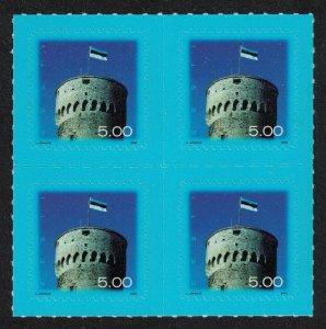 Estonia National Flag Block of 4 SG#480