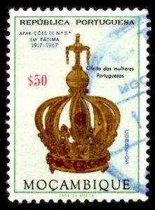 Mozambique 1967 Virgin's Crown, Virgin Mary, Fatima 50c Scott.480 Used (#5)