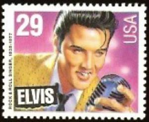 2721 Elvis Presley F-VF MNH single