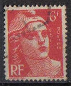 FRANCE, 1945-7, used 6f, Marianne SG544