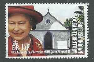 British Indian Ocean Territory  Scott 119 Used  Elizabeth II