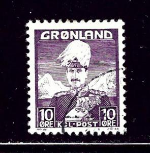 Greenland 4 Used 1938 issue