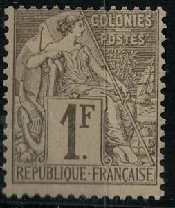 French Colonies 1881 SC 59 Mint SCV $80.00