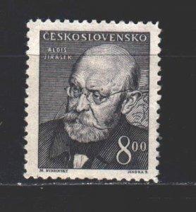 Czechoslovakia. 1949. 571 from the series. Jirasek, writer. MNH.