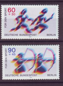J20754 Jlstamps 1979 berlin germany set mnh #9nb157-8 sports