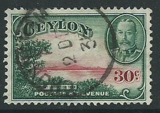 Ceylon Edward VII  SG 376  Used
