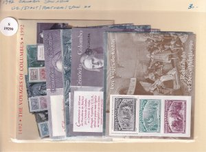 1992, Columbus Joint Issue, US/Italy/Portugal/Spain, MNH (S19290)