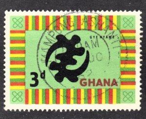 Ghana Scott 53 F to VF used with a splendid SON cds.