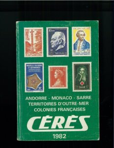 1982 CERES French Territories & Colonies Postage Stamp Catalogue