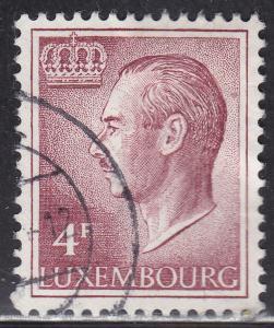 Luxembourg 426 Hinged 1971 Grand Duke Jean