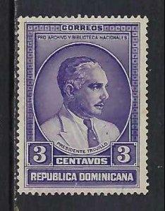 DOMINICAN REPUBLIC 313 VFU O801-6