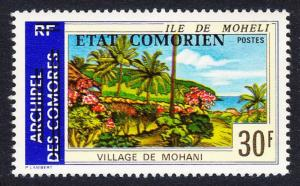 Comoro Is. Overprint 'Etat Comorien' on 30 Fr Mohani SC#139 MI#195