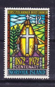 Norfolk Island 1972 South Pacific Church used