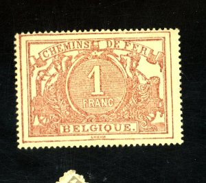 BELGIUM #14 MINT FVF OG HR Cat $350