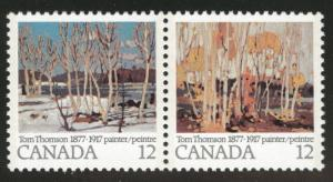 Canada Scott 733-734 = 734a MNH** pair of stamps