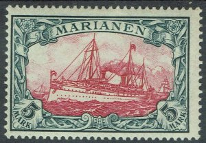 MARIANA ISLANDS 1901 YACHT 5MK NO WMK