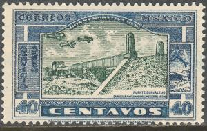 MEXICO C79, 40c HIGHWAY INAUGURATION, MINT, NH. VF.