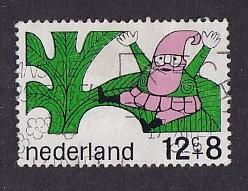 Netherlands   #B439  used  1968 fairy tale characters  12c