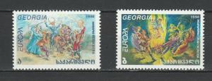 Georgia 1998 CEPT Europa 2 MNH Stamps