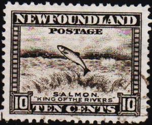 Newfoundland. 1932 10c  S.G.215 Fine Used