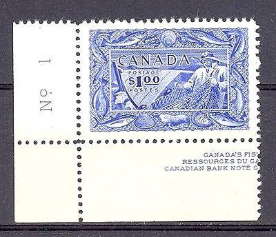 Canada #302  Plate Block single VF NH - Lakeshore Philate...