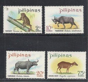 Philippines #1006-9 comp mnh cv $3.50 Animals