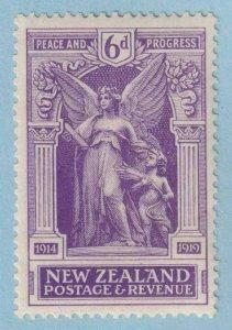NEW ZEALAND 169  MINT HINGED OG * NO FAULTS EXTRA FINE!