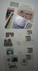 Ameripex FDC Maxi Card SC# 2145 779 Philatelic Expo Covers