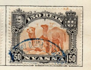 Nyassa 1901 Early Issue Fine Used 150r. NW-113379