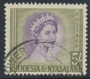 Rhodesia & Nyasaland SG 13 Sc# 153 used  please see scans and details