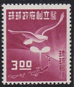 Ryukyu Islands 18 MNH (1952)