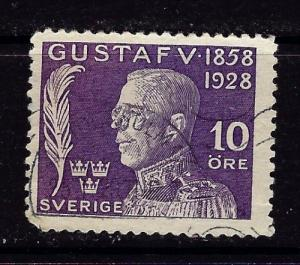 Sweden B33 Used 1928 Issue some corner rounding