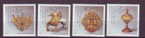 J24997 JLstamps 1988 germany berlin set mnh #9nb261-4 artifacts
