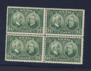 Canada MNH VF Block; #147-12c Block MNH VF Guide Value = $120.00