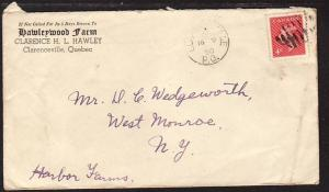 Hawleywood Farm Clarenceville QC Canada 1950 Cover
