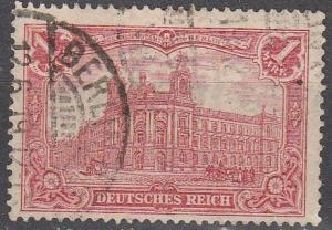 Germany #75 F-VF Used CV $2.75