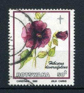Botswana 1986 50t Blumen  Hagebutte Diversifolius  Sg 607 Gebraucht