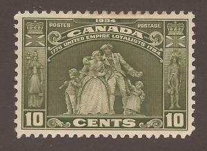 CANADA #209 MINT VF