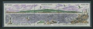Saint-Pierre & Miquelon 1991 Sc 573a Birds Fishing Shore CV $8.50