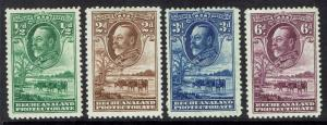 BECHUANALAND 1932 KGV CATTLE RANGE TO 6D