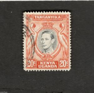 Kenya Uganda Tanganyika SCOTT #74d Θ used stamp
