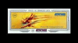 AITUTAKI - 1990 - HUMAN COMET - ENVIRONMENTAL PROTECTION ++ MINT - MNH S/SHEET!