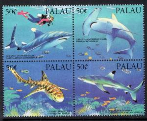 Palau 315 Sharks MNH VF