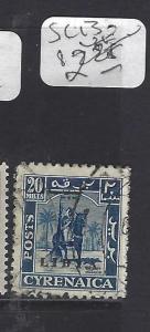 LIBYA  CYRENAICA  (P0809B)   SC 13   VFU