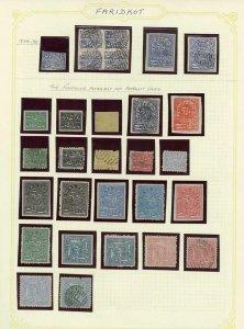 Faridkot Selection (29 stamps)