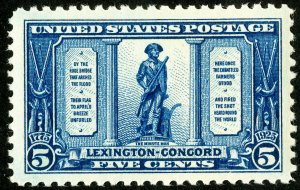 US Stamps # 619 MNH Superb Choice