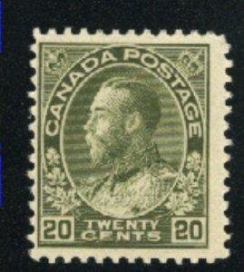Canada 119   Mint  F 1911-25   PD