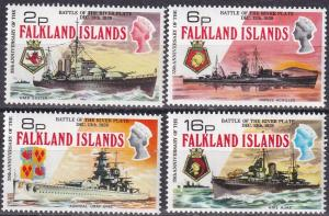Falkland Islands #237-40  MNH CV $22.00  Z587