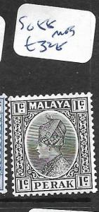 MALAYA PERAK  (P0901B) 1C  SG 88  MOG
